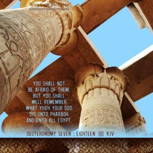 Deu 7:19 | scripture pictures @ alittleperspective.com