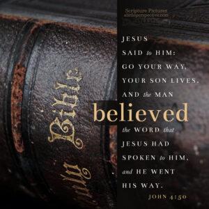 Joh 4:50 | | scripture pictures @ alittleperspective.com