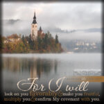 Lev 26:9 | scripture pictures @ alittleperspective.com