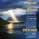 Jer 46:27 | scripture pictures @ alittleperspective.com