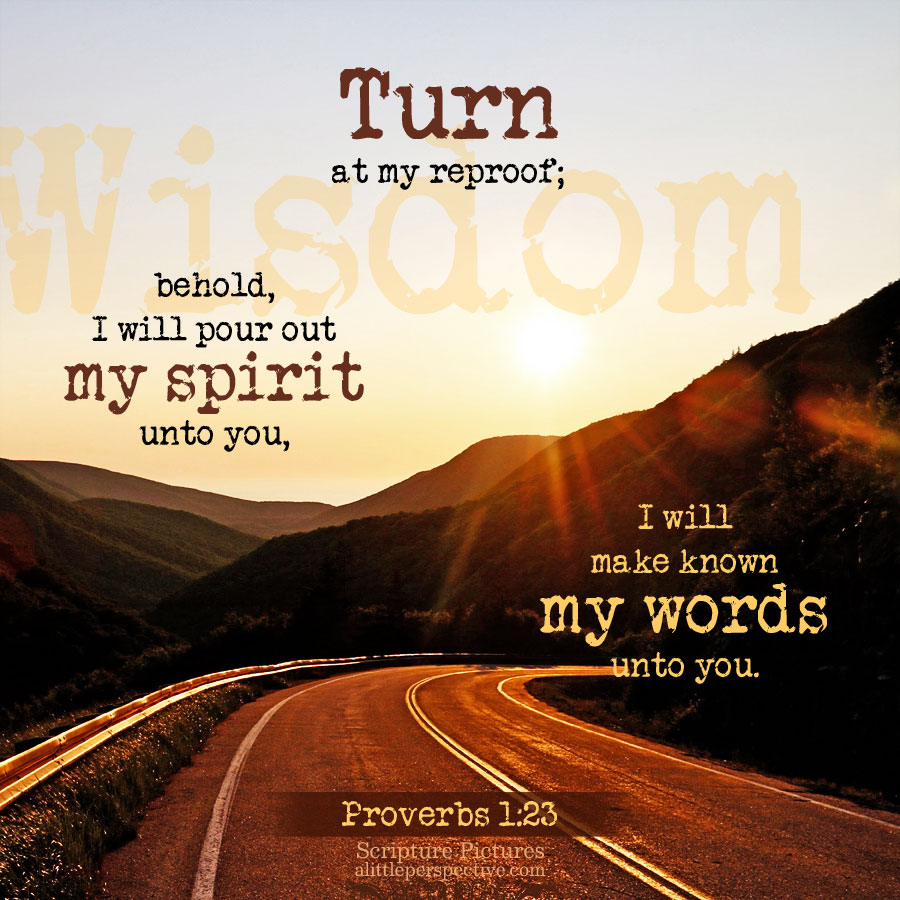 Pro 1:23   Scripture Pictures @ alittleperspective.com
