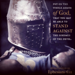 Eph 6:11   Scripture Pictures @ alittleperspective.com