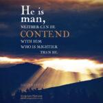 Ecc 6:10 | Scripture Pictures @ alittleperspective.com