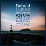 Isa 59:1 | Scripture Pictures @ alittleperspective.com
