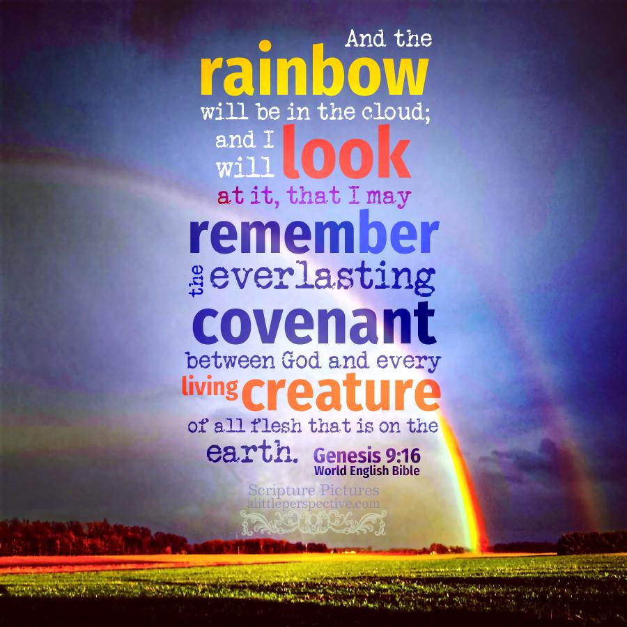 Gen 9:16 | Scripture Pictures @ alittleperspective.com